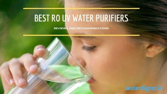best RO UV water purifier in India