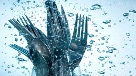saving water at home kitchen