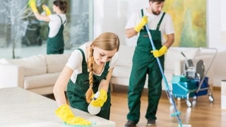 water saving methods during cleaning
